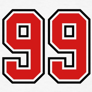 98 sports jersey football number T-SHIRT - Men's T-Shirt