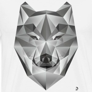 AD Grey Wolf T-Shirts - Men's Premium T-Shirt