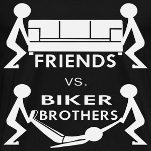Biker Brothers Help You Move A Body  - Men's Premium T-Shirt