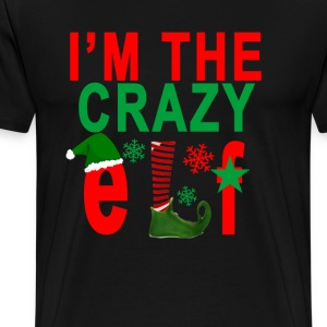 im_the_crazy_elf - Men's Premium T-Shirt