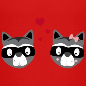Racoons in love Baby & Toddler Shirts - Toddler Premium T-Shirt