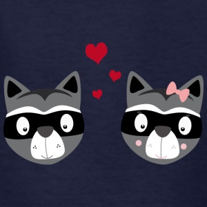 Racoons in love Kids' Shirts - Kids' T-Shirt