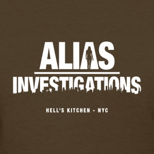 Alias Investigations - Women's T-Shirt