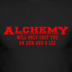 Alchemy Costs - Men's Long Sleeve T-Shirt by Next Level