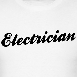 electrician t-shirt - Men's T-Shirt