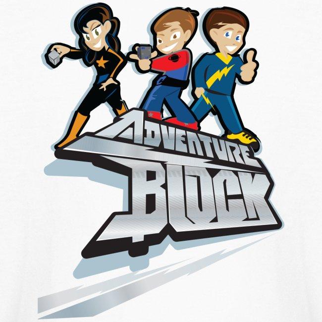 Adventure Block Kids Long Sleeve T-Shirt