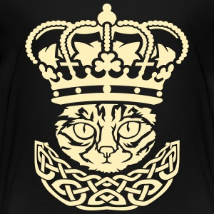 The cat king Kids' Shirts - Kids' Premium T-Shirt