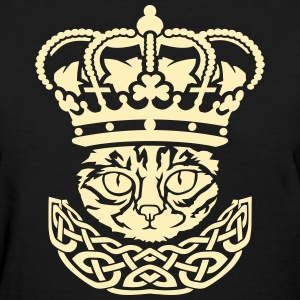 The cat king Women's T-Shirts - Women's T-Shirt