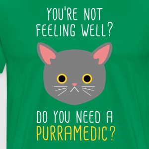 Do you need a Purramedic? Paramedic T-shirt T-Shirts - Men's Premium T-Shirt