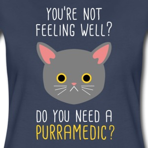 Do you need a Purramedic? Paramedic T-shirt Women's T-Shirts - Women's Premium T-Shirt