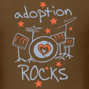 Adoption Rocks T-Shirts - Men's T-Shirt