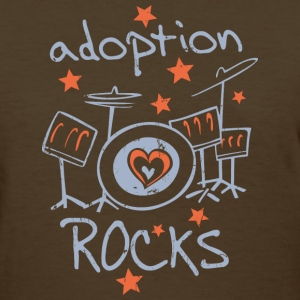 Adoption Rocks Women's T-Shirts - Women's T-Shirt