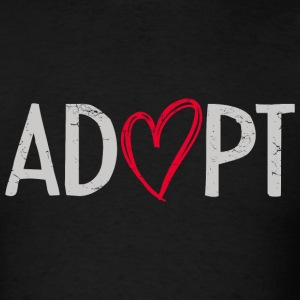 Adopt Heart T-Shirts - Men's T-Shirt