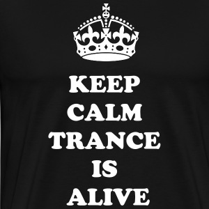 TFM - KEEP CALM TRANCE IS ALIVE - Men's Premium T-Shirt