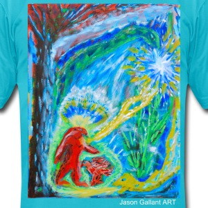 The Initiation, art by Jason Gallant T-Shirts - Men's T-Shirt by American Apparel