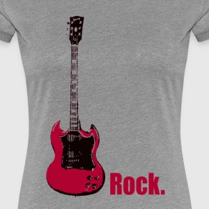 rock. - Women's Premium T-Shirt