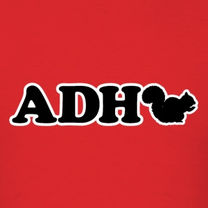 ADHD SQUIRREL! - Men's T-Shirt
