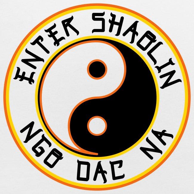 Enter Shaolin Baby Bib in White (ES + Ngo Dac Na)