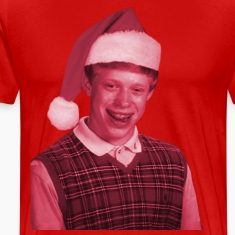 Bad Luck Brian Santa T-Shirt