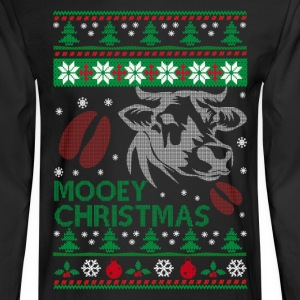 Mooey Christmas - Men's Long Sleeve T-Shirt