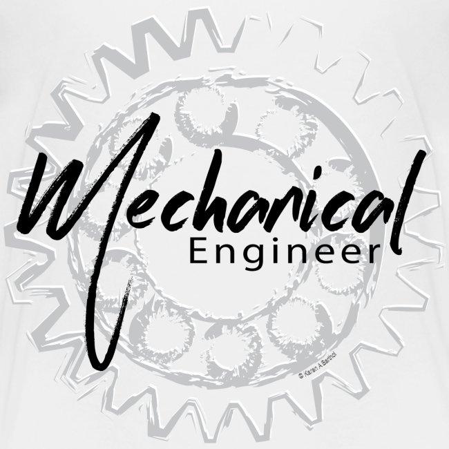 Funny Engineering Mechanical Engineer Gear Sketch