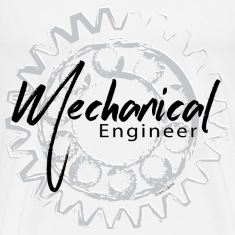 Mechanical Engineer Gear Sketch T-Shirts