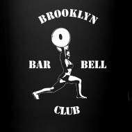 Design ~ Brooklyn Barbell Club Mug For Righties
