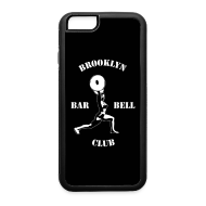 Design ~ Brooklyn Barbell Club iPhone 6 Case