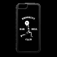 Design ~ Brooklyn Barbell Club iPhone 6 Case