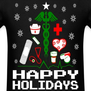Nurse Christmas Tree T-Shirts - Men's T-Shirt