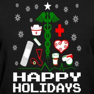 Nurse Christmas Tree Women's T-Shirts - Women's T-Shirt