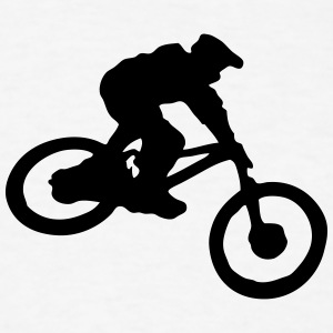downhill mtb mountain bike 01 t-shirt - Men's T-Shirt