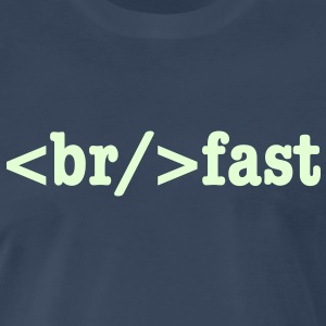 breakfast HTML Code T-Shirts - Men's Premium T-Shirt