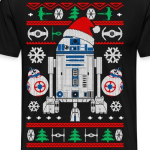 R2D2 Christmas - Men's Premium T-Shirt