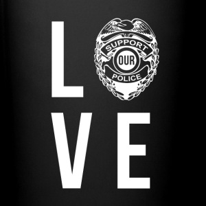 Love Police Policeman T-shirt Mugs & Drinkware - Full Color Mug