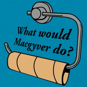 what would macgyver do Women's T-Shirts - Women's T-Shirt