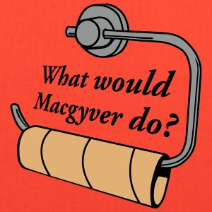 what would macgyver do Bags & backpacks - Tote Bag