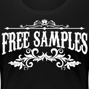 Free Samples WHITE Women's T-Shirts - Women's Premium T-Shirt