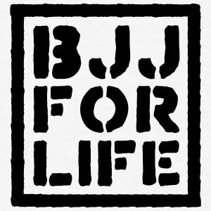 brazilian jiu jitsu bjj for life 02 t-shirt - Men's T-Shirt