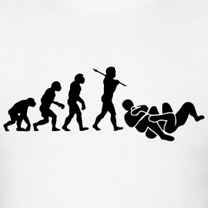 brazilian jiu jitsu bjj evolution 01 t-shirt - Men's T-Shirt