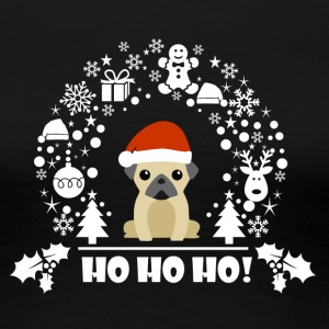 Pug Dog Puppy Christmas Limited Edition  - Women's Premium T-Shirt