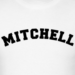 mitchell name surname sports jersey curv t-shirt - Men's T-Shirt