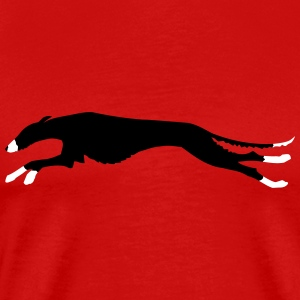 galgo wired-haired T-Shirts - Men's Premium T-Shirt