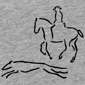 Galgo and spanish rider Baby & Toddler Shirts - Toddler Premium T-Shirt