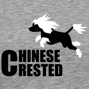 Chinese crested dog T-Shirts - Men's Premium T-Shirt