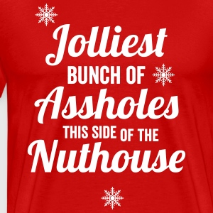 Jolliest Bunch of Assholes Men's - Men's Premium T-Shirt