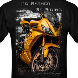 Daytona Triumph T-Shirt I'd Rather Be Riding T-Shirts - Men's T-Shirt