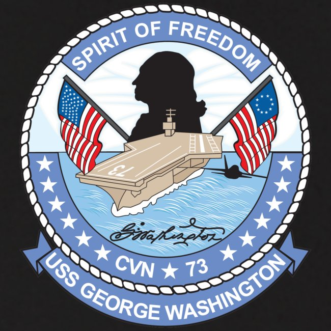 USS GEORGE WASHINGTON 2004 CRUISE HOODIE