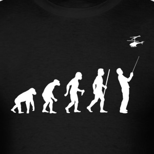 Remote Control Planes Evolution - Men's T-Shirt