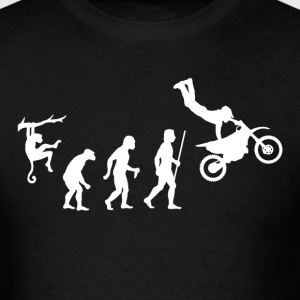 Evolution Dirt Bike - Men's T-Shirt